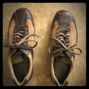 Born leather oxfords. Chic walking shoes!